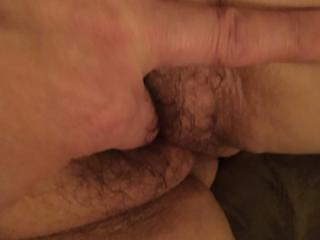 Hairy little pussy