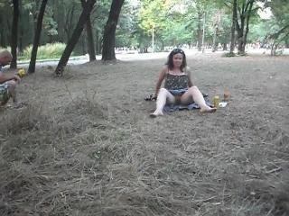 Summer in park